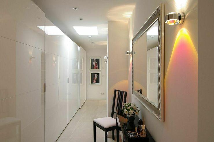 Ankleide schüller.innenarchitektur Moderne Ankleidezimmer Glas Weiß