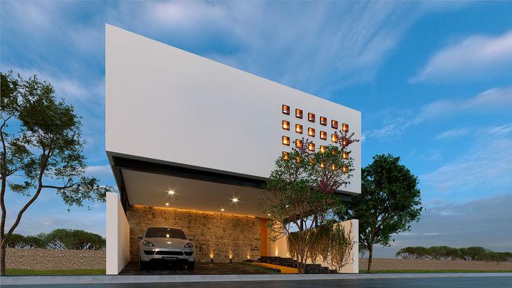 Laboratorio Mexicano de Arquitectura Single family home White