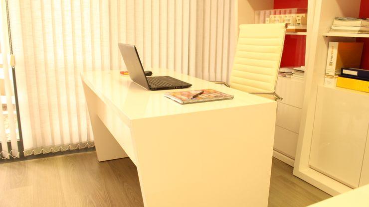 Mobiliário para o laptop PROJETARQ GabineteEscrivaninhas