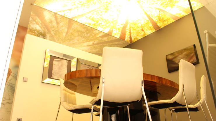 Detalhe do tecto da sala de reuniões PROJETARQ GabineteAcessórios e decoração