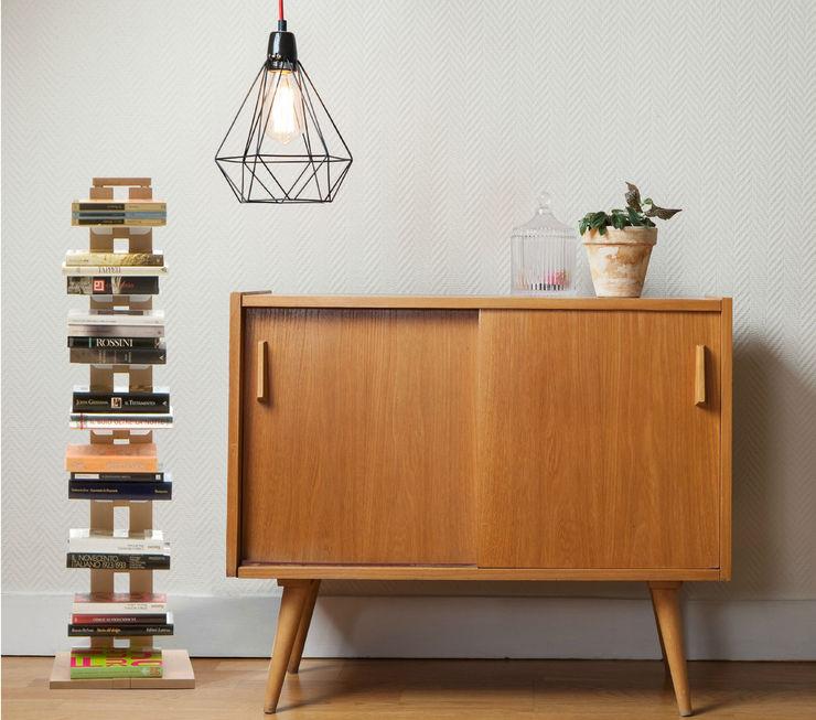 Bookshelf Zia Ortensia Le zie di Milano Corridor, hallway & stairs Drawers & shelves Solid Wood