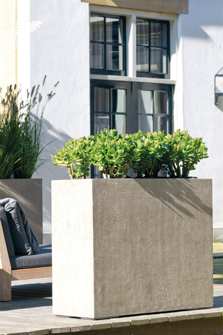 arts&more Balconies, verandas & terraces Accessories & decoration Concrete Grey
