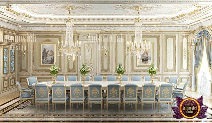 Unique Classical Dining Interior Design Luxury Antonovich Design