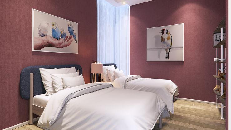Recámara VillaSi Construcciones Dormitorios modernos