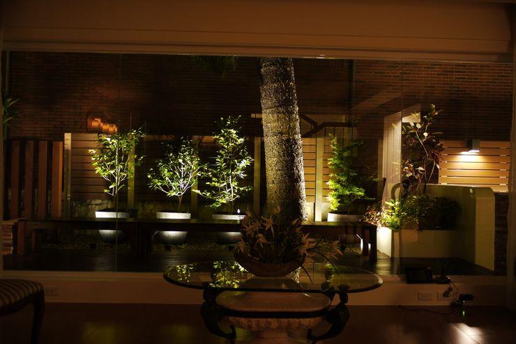 夜晚照明打開更有熱帶島嶼氣氛 大地工房景觀公司 Garden Lighting