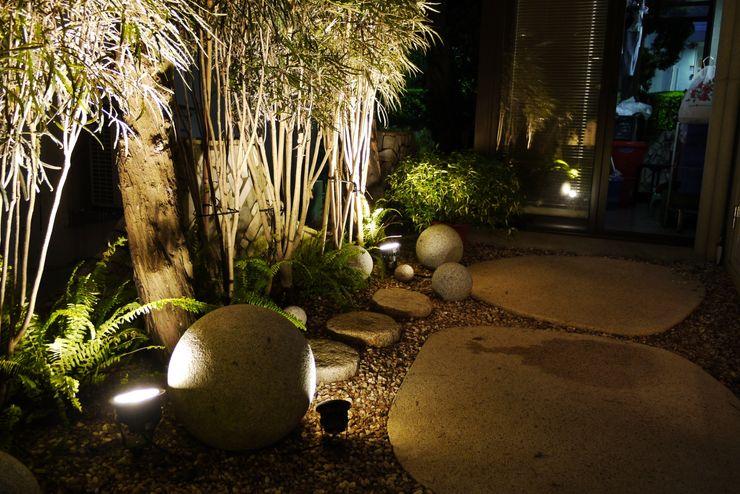 適當的利用石件裝飾也能帶給庭園熱帶島嶼氛圍 大地工房景觀公司 Garden Accessories & decoration