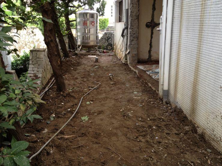 庭園施工前的樣貌 大地工房景觀公司