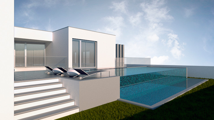 Casa Vê FR Arquitetura e Engenharia Casas modernas