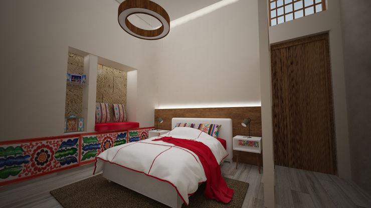 Hotel Boutique Centro Histórico Armo Dezain Dormitorios de estilo rústico