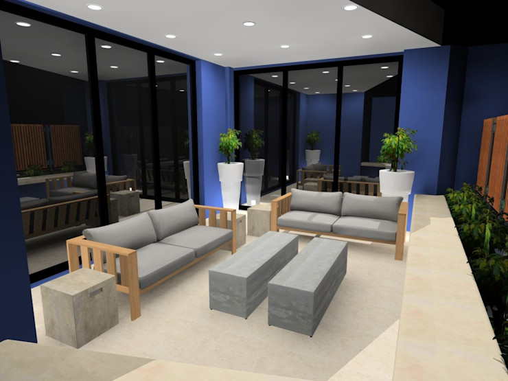 AB DESIGN Balcon, Veranda & TerrasseMobilier