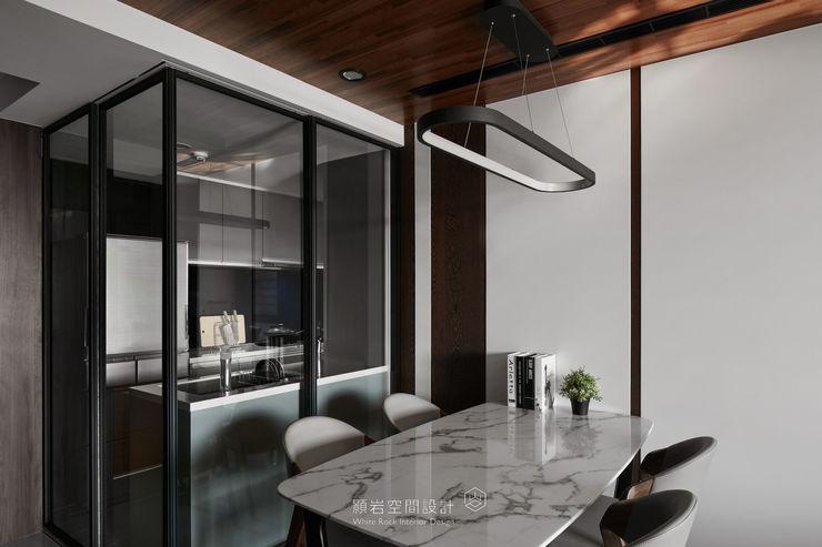 台北市 內湖區 劉公館 顥岩空間設計 現代廚房設計點子、靈感&圖片