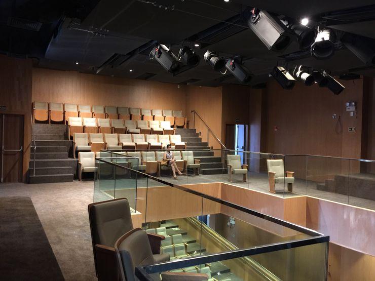 Carlos Eduardo de Lacerda Arquitetura e Planejamento Classic style media rooms