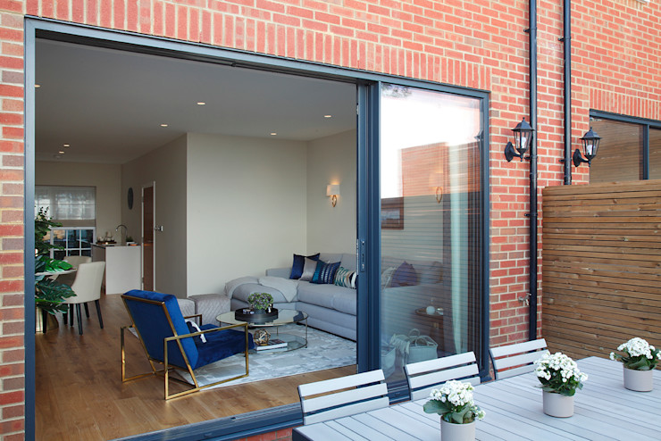 patio New Images Architects Modern houses