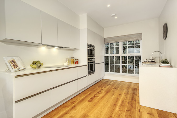 Finchley Central New Images Architects Modern kitchen