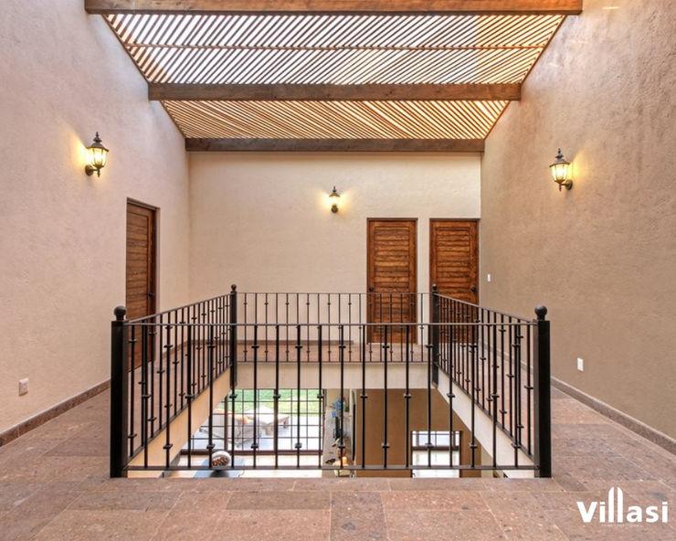 Pasillos VillaSi Construcciones Pasillos, vestíbulos y escaleras rústicos