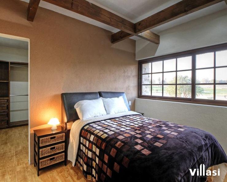 Casa Cantera en San Miguel de Allende VillaSi Construcciones Dormitorios rústicos