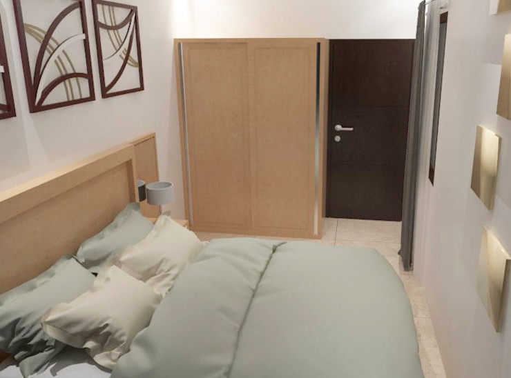Kamar Tidur Lantai 2 Tatami design