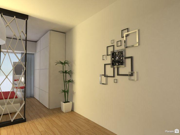 Monoambiente - Recoleta Arquimundo 3g - Diseño de Interiores - Ciudad de Buenos Aires Pasillos, vestíbulos y escaleras modernos