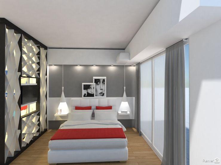Monoambiente - Recoleta Arquimundo 3g - Diseño de Interiores - Ciudad de Buenos Aires Dormitorios de estilo moderno