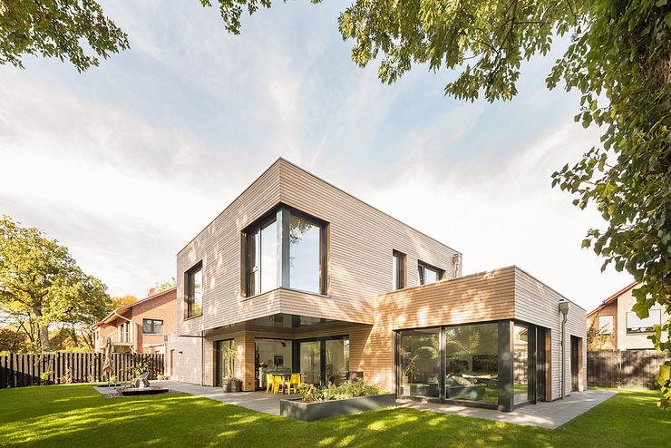Ansicht Gartenansicht Hellmers P2   Architektur & Projekte Einfamilienhaus