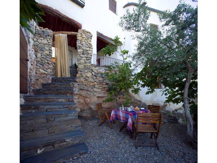 Vivienda y jardín. Casa de los Vientos Waterscales Jardines con piedras Pizarra Gris