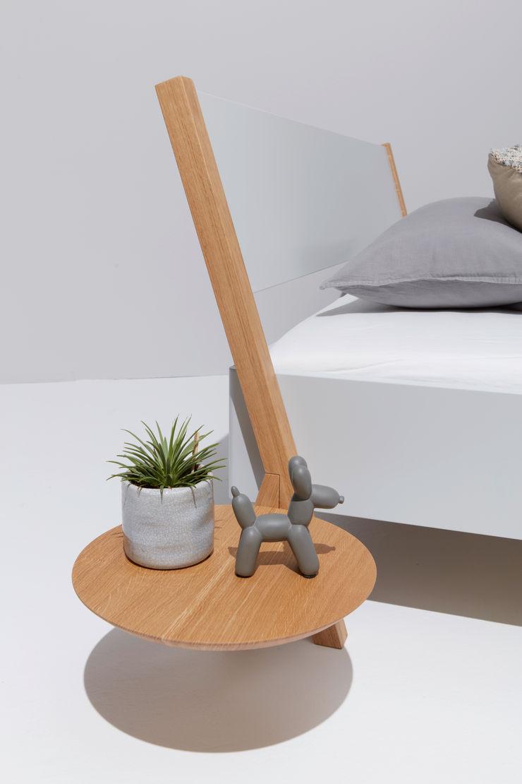 studio michael hilgers SypialniaŁóżka i zagłówki Drewno