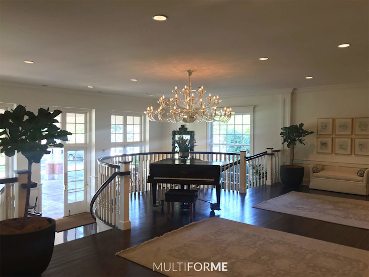 Multiforme Lighting at Denver Country Club MULTIFORME® lighting Eclectic style event venues Glass Amber/Gold