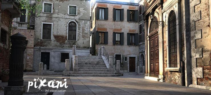 PIXANI STUDIOS Multi-Family house Concrete