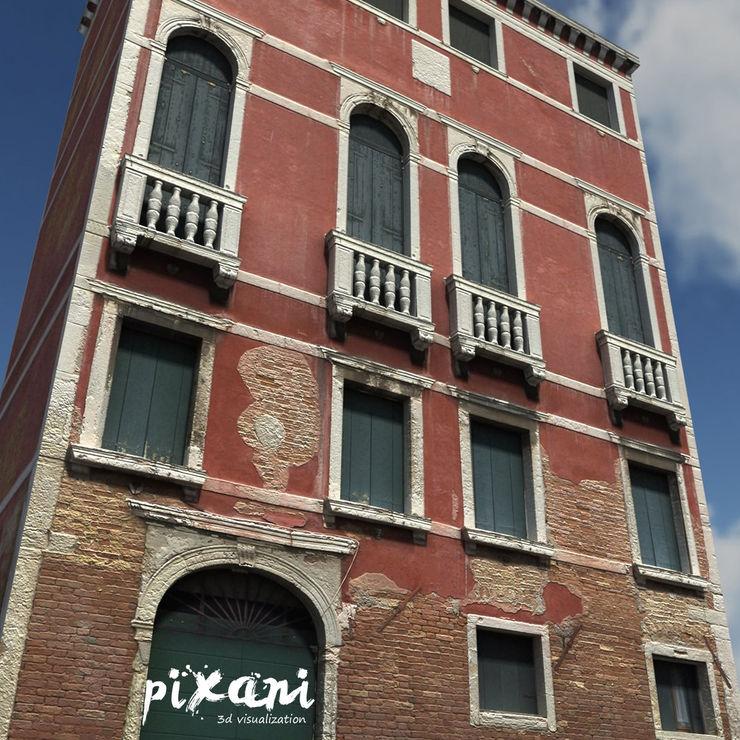 PIXANI STUDIOS Multi-Family house Bricks