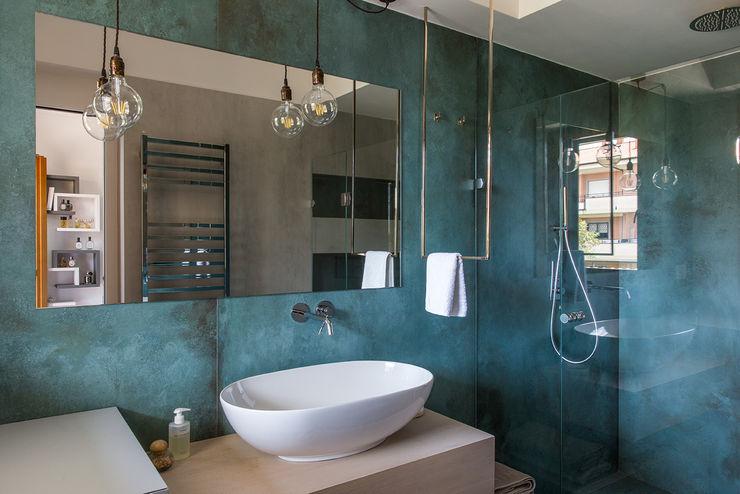 Mobile bagno con lavabo d'appoggio Orsolini Bagno moderno