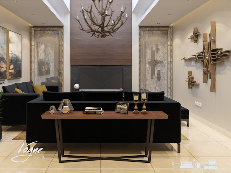 Vogue Design Salones de estilo clásico