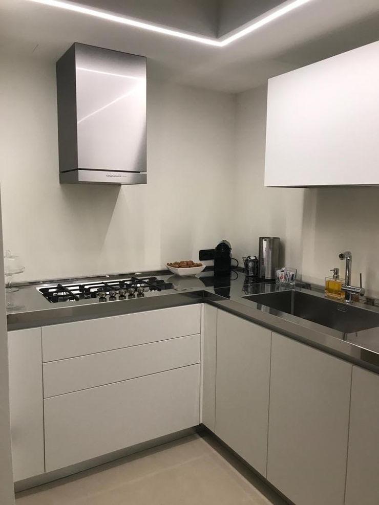 SteellArt Modern Kitchen White