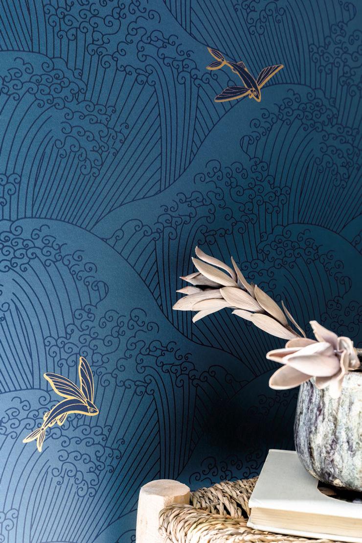 TapetenStudio.de Walls & flooringWallpaper Blue
