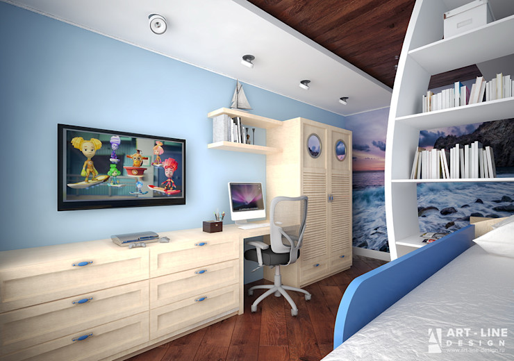 Art-line Design Ausgefallene Kinderzimmer