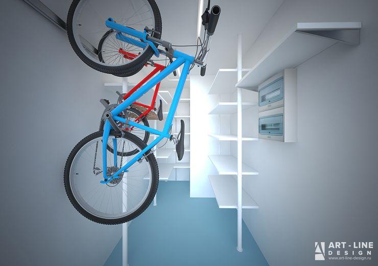 Art-line Design Skandinavische Ankleidezimmer Weiß