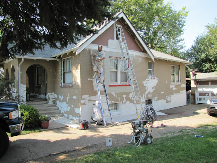 Preparing for Exterior paint Informatics USA Eclectic style walls & floors Plywood Transparent