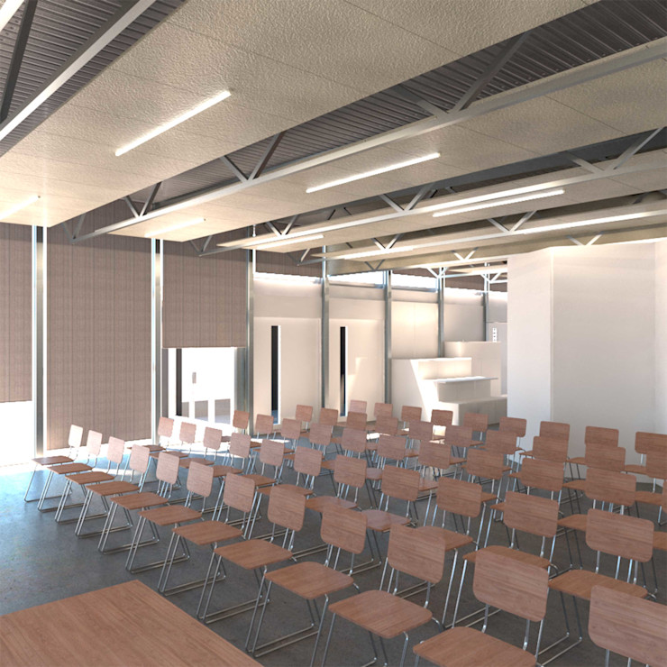Divers Arquitectura, especialistas en Passivhaus en Sabadell Выставочные павильоны в стиле модерн