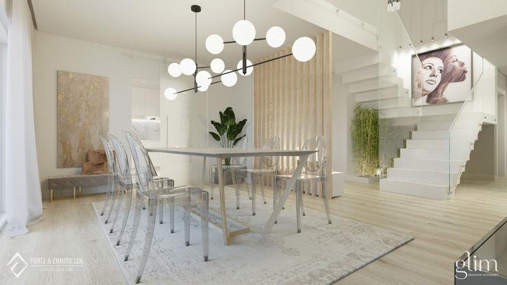 Glim - Design de Interiores EsszimmerBeleuchtungen