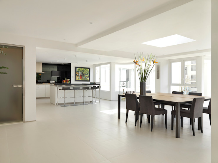 Original Vision Sala da pranzo minimalista