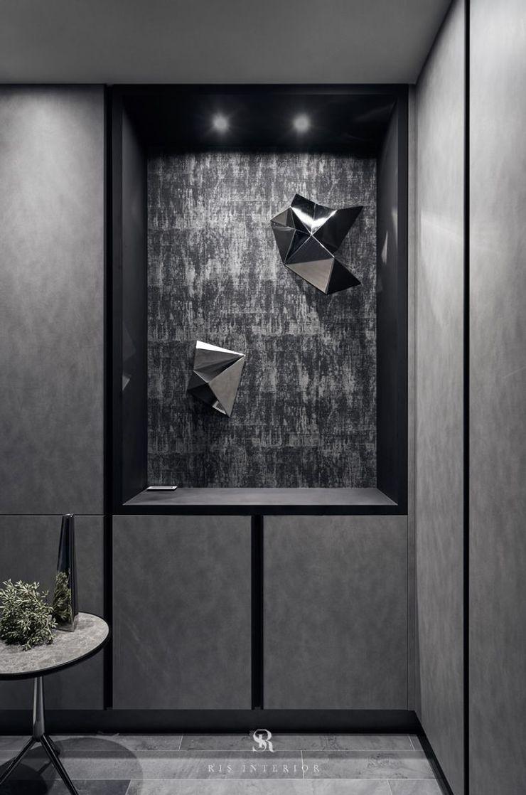 霏霧.烟波 Fog Floated 理絲室內設計有限公司 Ris Interior Design Co., Ltd. 玄關、走廊與階梯配件與裝飾品