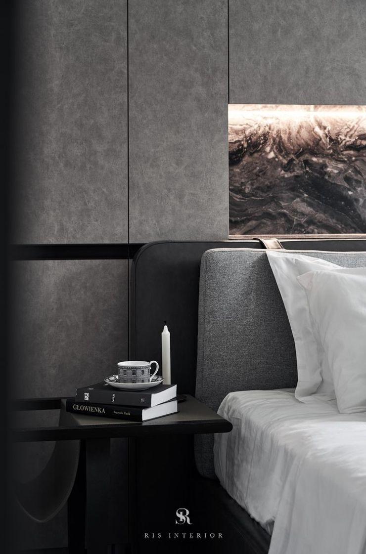 霏霧.烟波 Fog Floated 理絲室內設計有限公司 Ris Interior Design Co., Ltd. 臥室照明