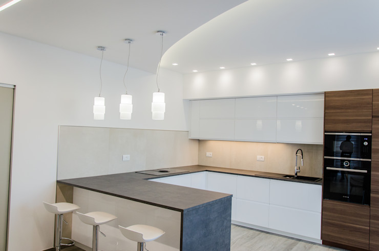 Una casa riportata a nuova vita – 120 mq Studio ARCH+D Cucina attrezzata