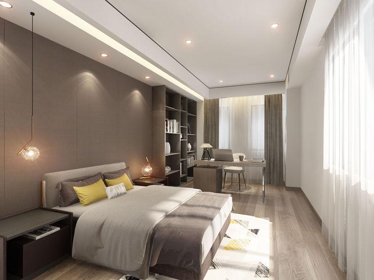 台中室內設計-築采設計 Kamar tidur kecil