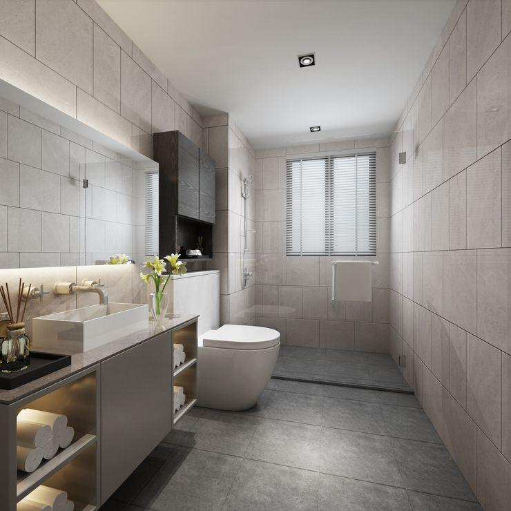 台中室內設計-築采設計 BathroomBathtubs & showers