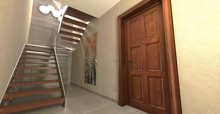L'ingresso Planet G Ingresso, Corridoio & Scale in stile moderno