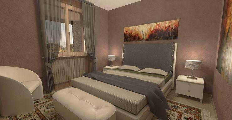 Ristrutturazione a Perugia Planet G Camera da letto moderna