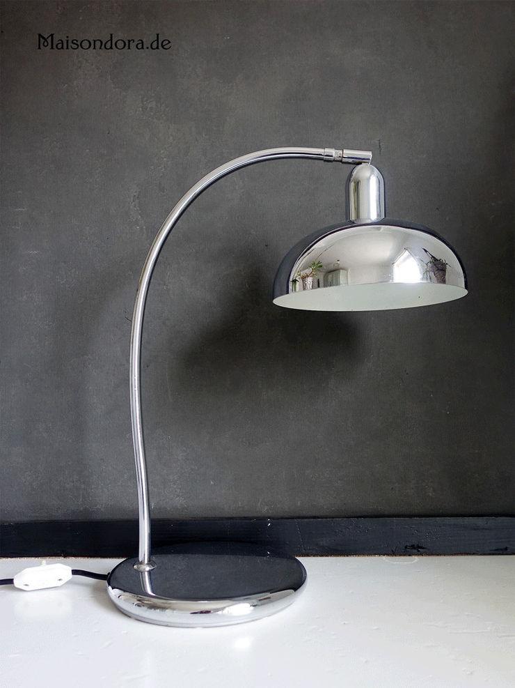 Maisondora Vintage Living Study/officeLighting Metal Metallic/Silver