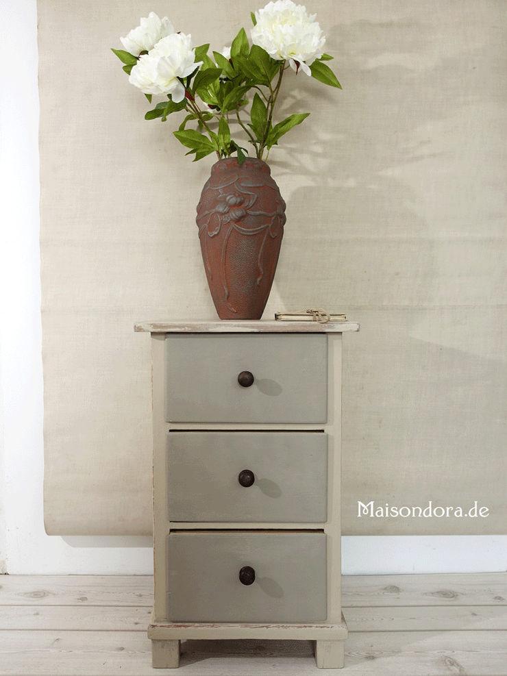 Maisondora Vintage Living HouseholdStorage Wood Beige