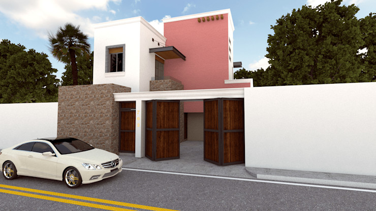DISARQ ARQUITECTOS. Moderne Häuser