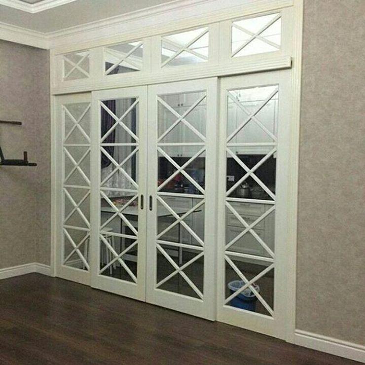 ГЕОНА. Glass doors White